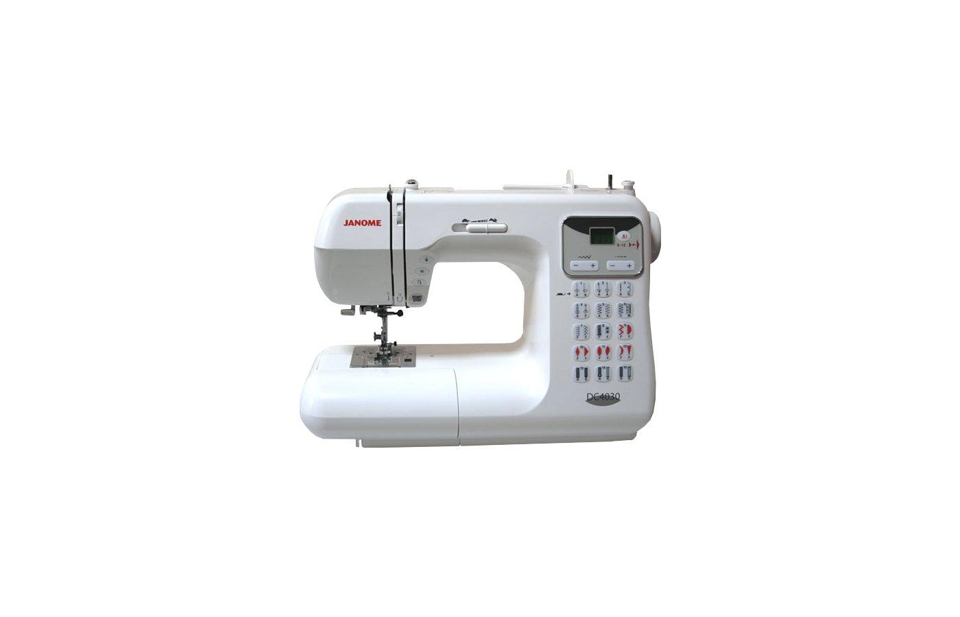 Швейная машина JANOME DC4030