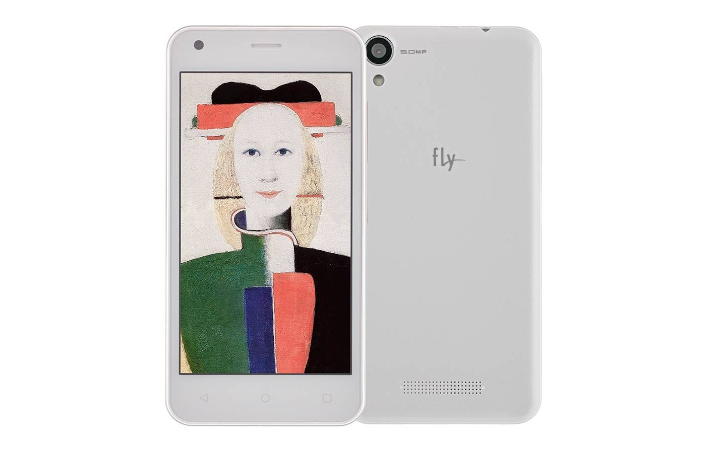Смартфон Fly FS454 Nimbus 8 White