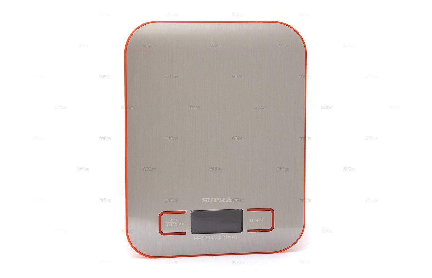 Весы кухонные SUPRA BSS-4076 red