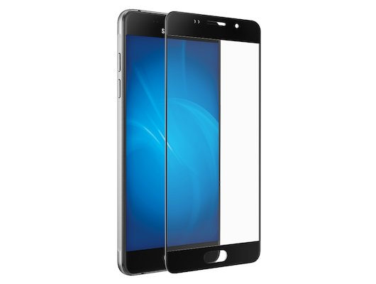 Стекло DF fullscreen для Samsung Galaxy A7 (2016) SM-A710 (sColor-04) black