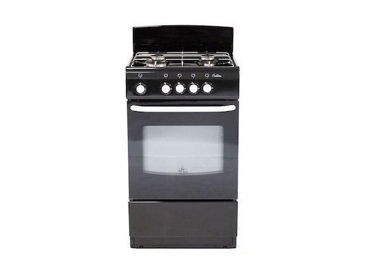 Плита газовая DELUXE 5040.38 Г чёрная
