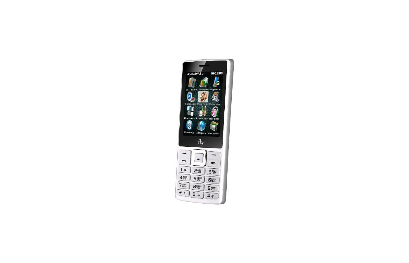Мобильный телефон Fly TS112 White