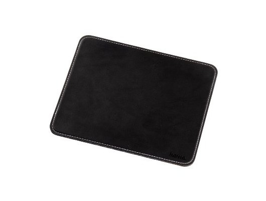 Коврик для мыши Hama H-54745 Leather Look черный