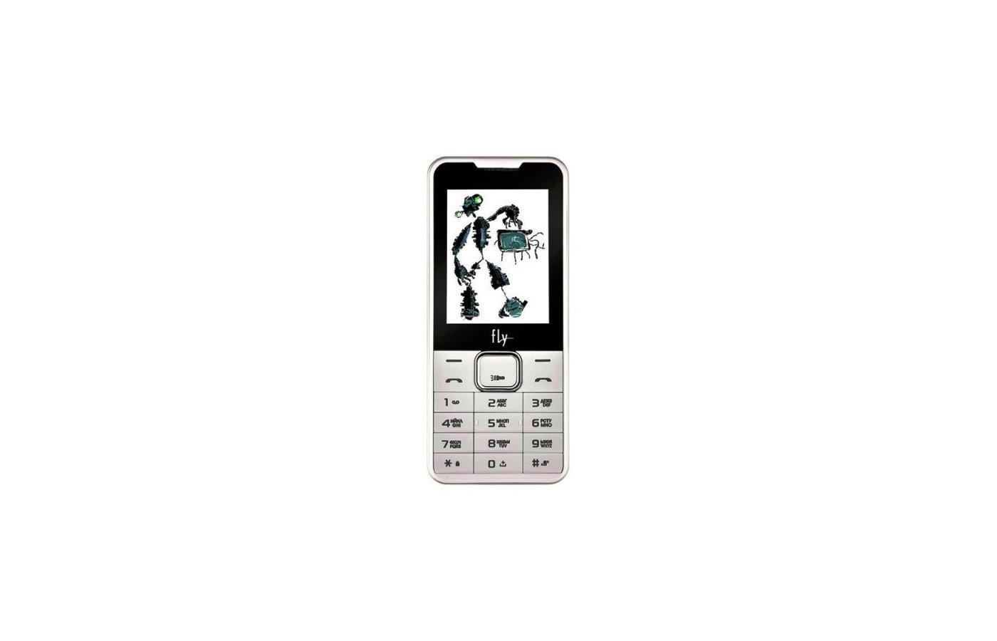 Мобильный телефон Fly FF243 White