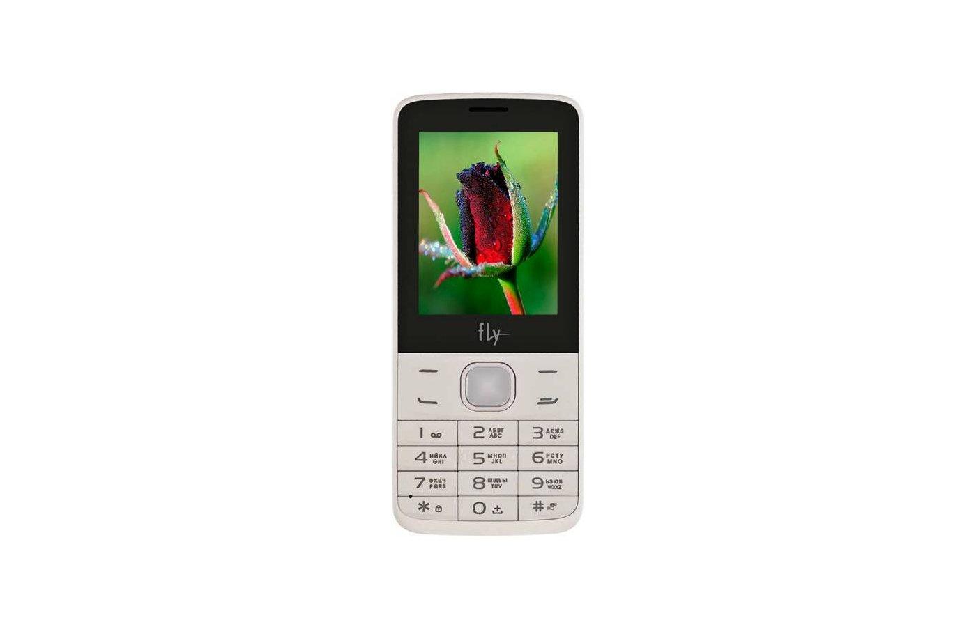 Мобильный телефон Fly FF242 White