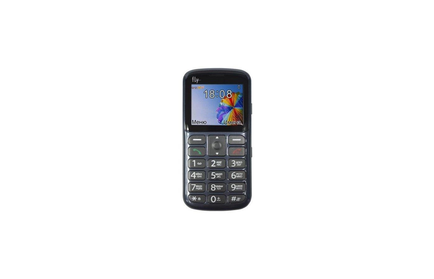 Мобильный телефон Fly Ezzy 8 Grey