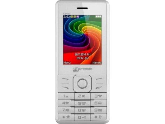 Мобильный телефон Micromax X2400 White