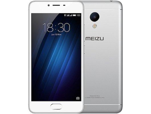 Смартфон Meizu M3s mini 32Gb silver
