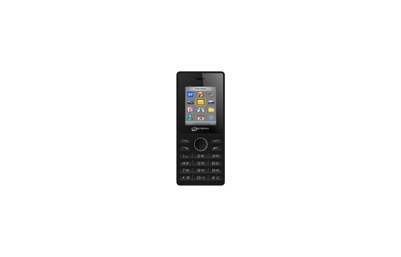 Мобильный телефон Micromax X405 Black