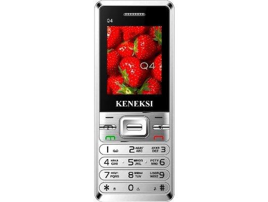 Мобильный телефон KENEKSI Q4 Silver