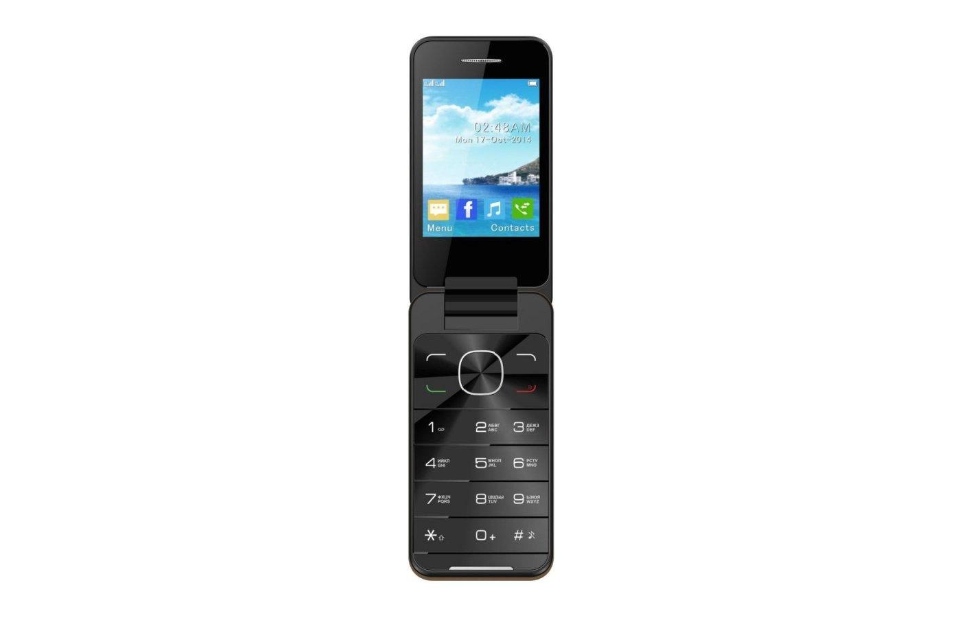Мобильный телефон Jinga Simple F500 Золотой