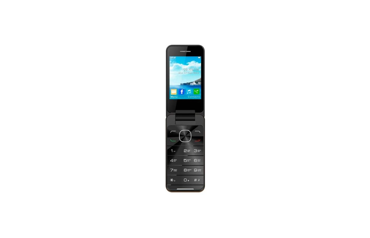 Мобильный телефон Jinga Simple F500 Black