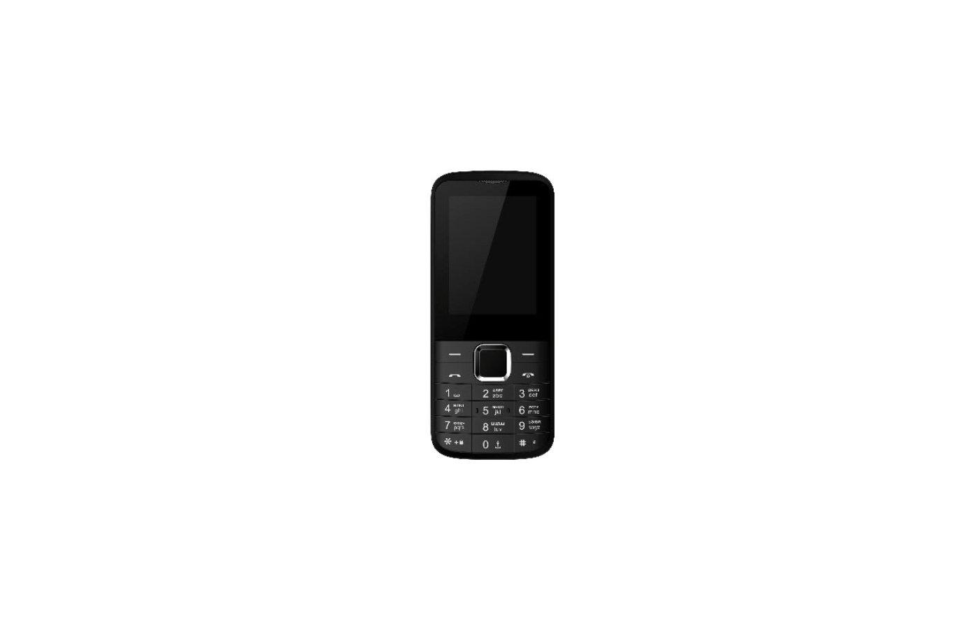 Мобильный телефон Jinga Simple F300 Чёрный