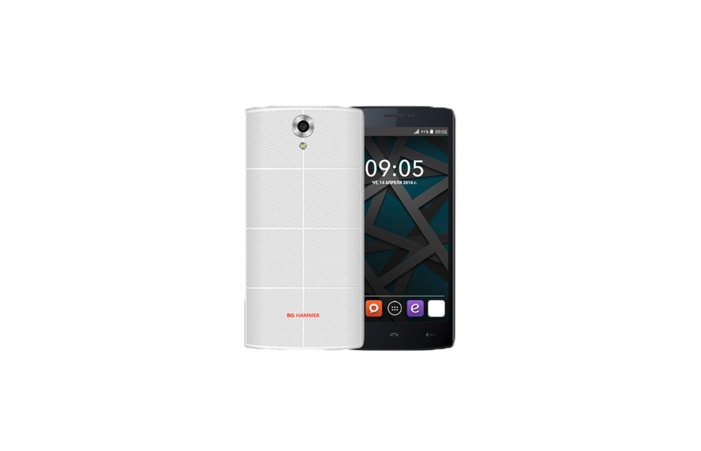 Смартфон BQ BQS-5502 Hammer White