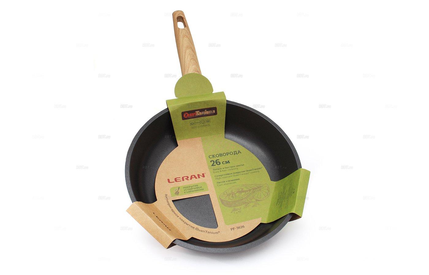 Сковорода LERAN PF-3626 литая индукционная