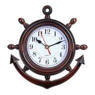 Часы настенные 581-112 Часы Якорь 24x24см 35027