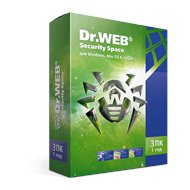 Компьютерное ПО Dr.Web Security Space 3 ПК/1 год