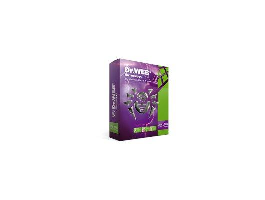 Компьютерное ПО Dr.Web Антивирус 2 ПК/1 год (BHW-A-12M-2-A3)