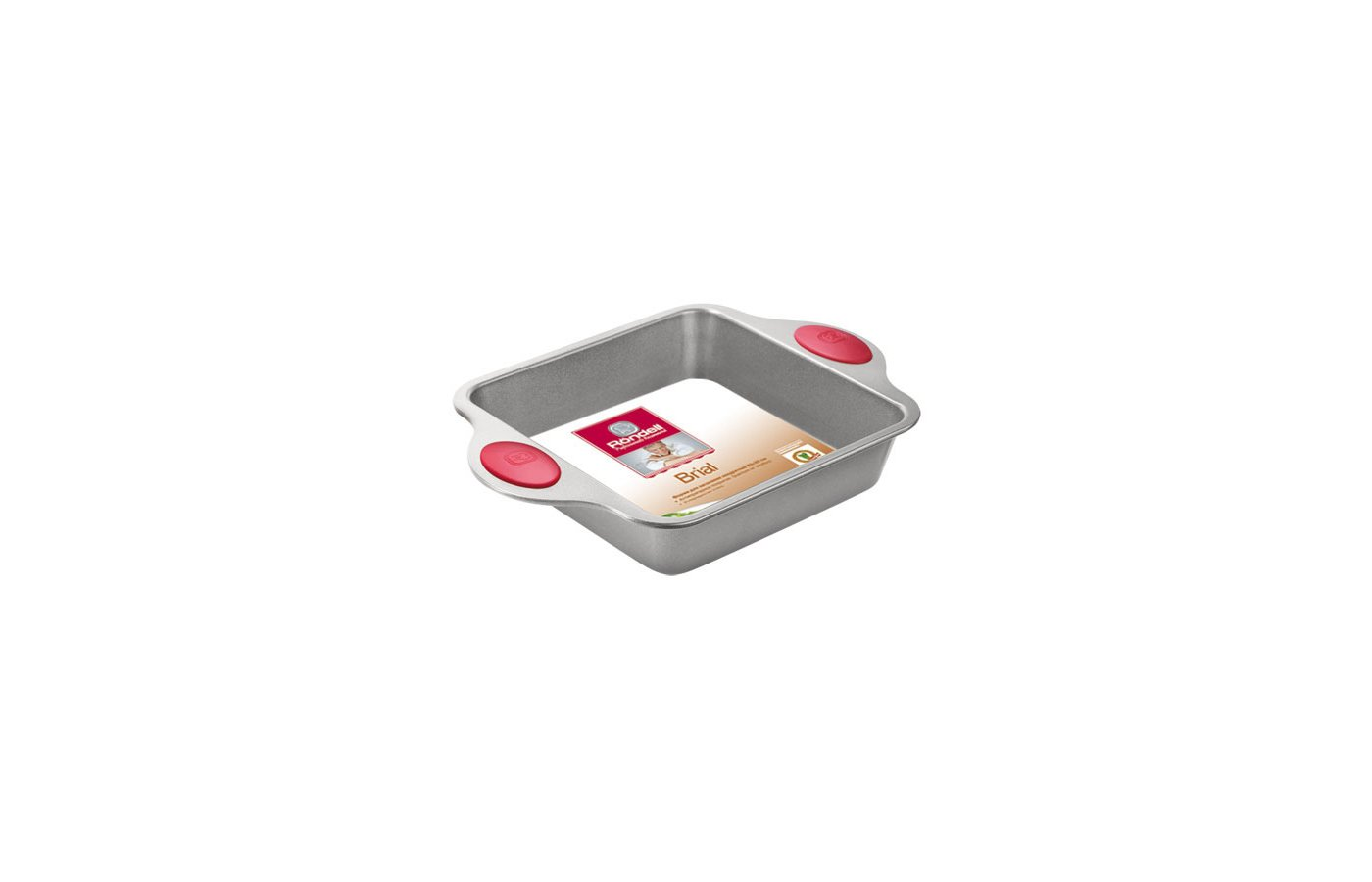 Форма для выпечки металлическая Rondell RDF-403 Brial Форма для запекания квадратная