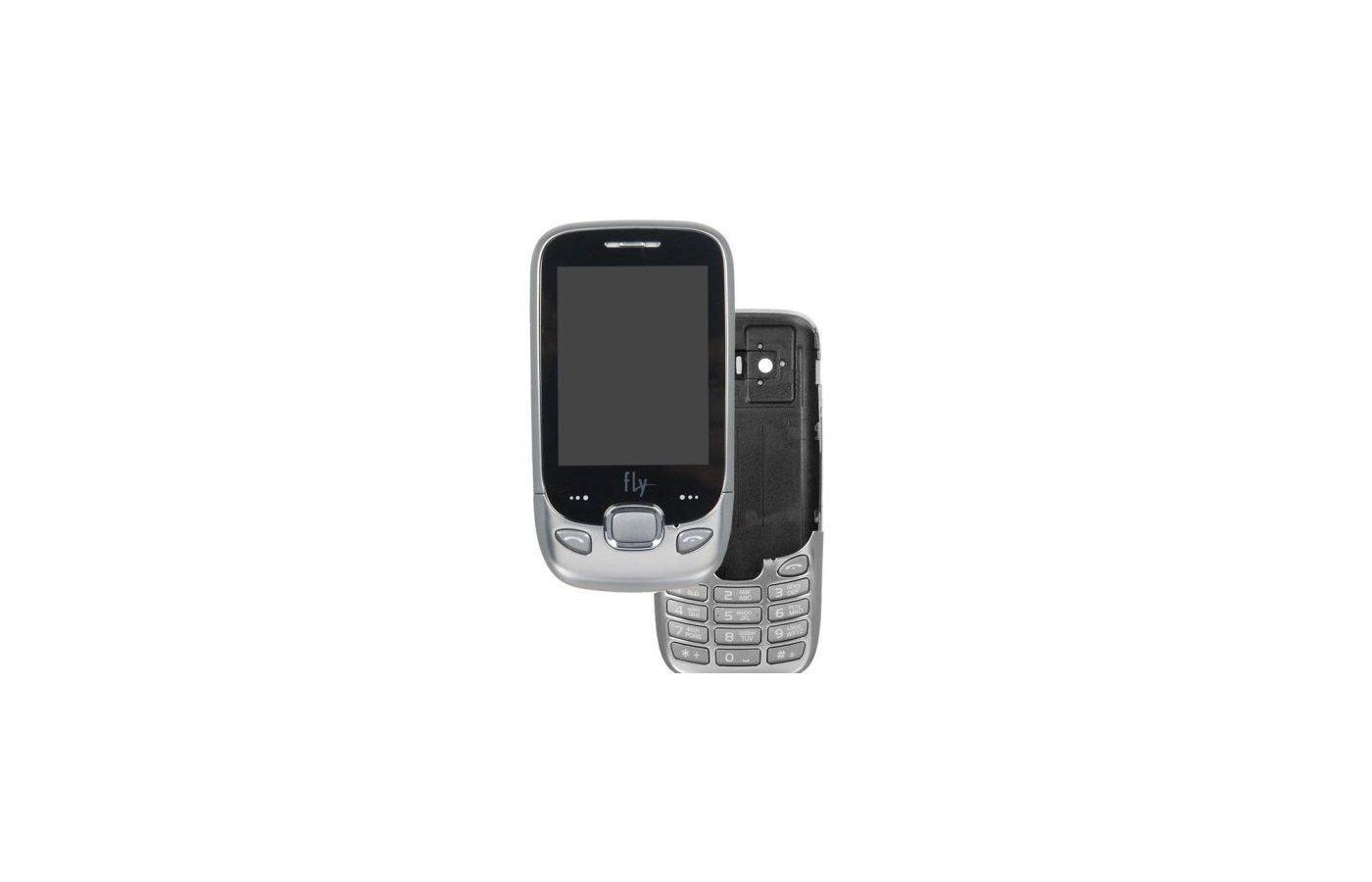 Мобильный телефон Fly E210 chrome