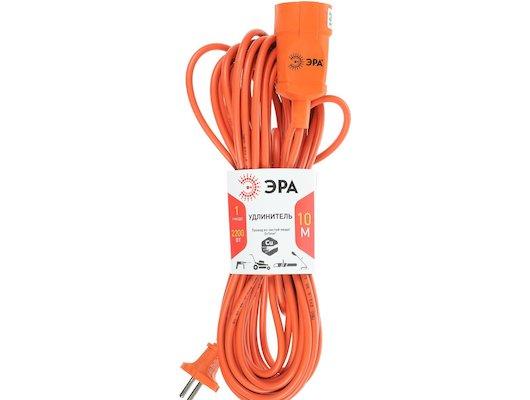Удлинитель ЭРА UP-1-2x1.0-10m бухта без заземл. 1роз./10м. (2х1мм2)