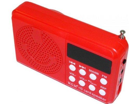 Колонка Model 10 красная