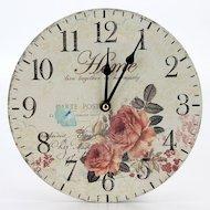 Фото Часы настенные 581-541 Часы Ретро стиль 23х23см МДФ пластик 1хАА арт.1