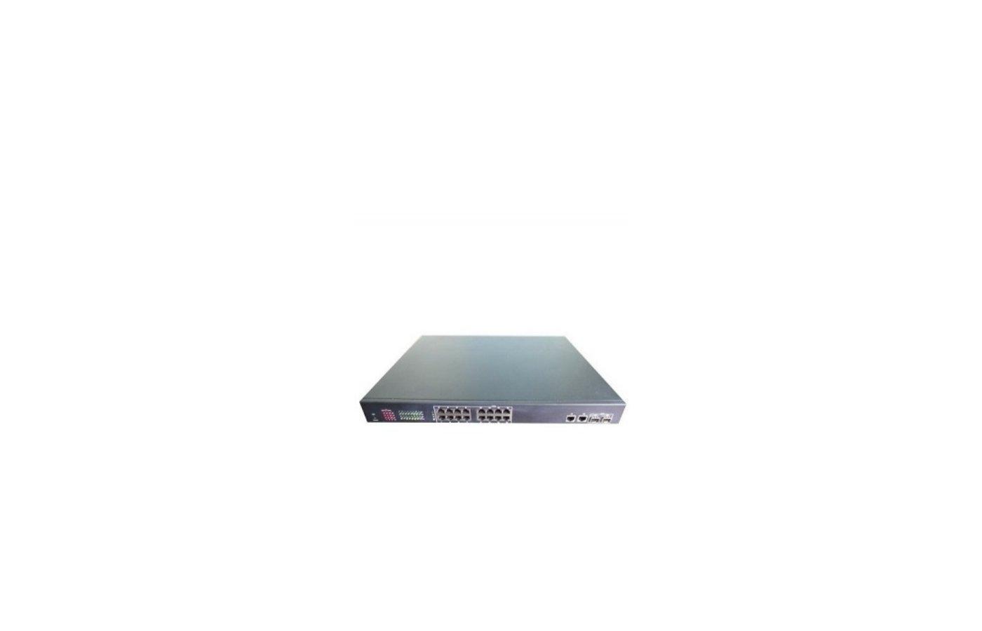 Аксессуары для видеосистем PS1016S16-портовый умный PoE свитч