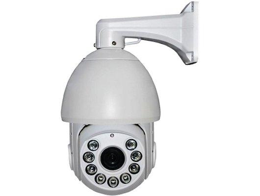 Система видеонаблюдения iVue-HDC-OSD20M390-150 Внешняя высокоскоротная поворотная AHD камера 2.0Мп