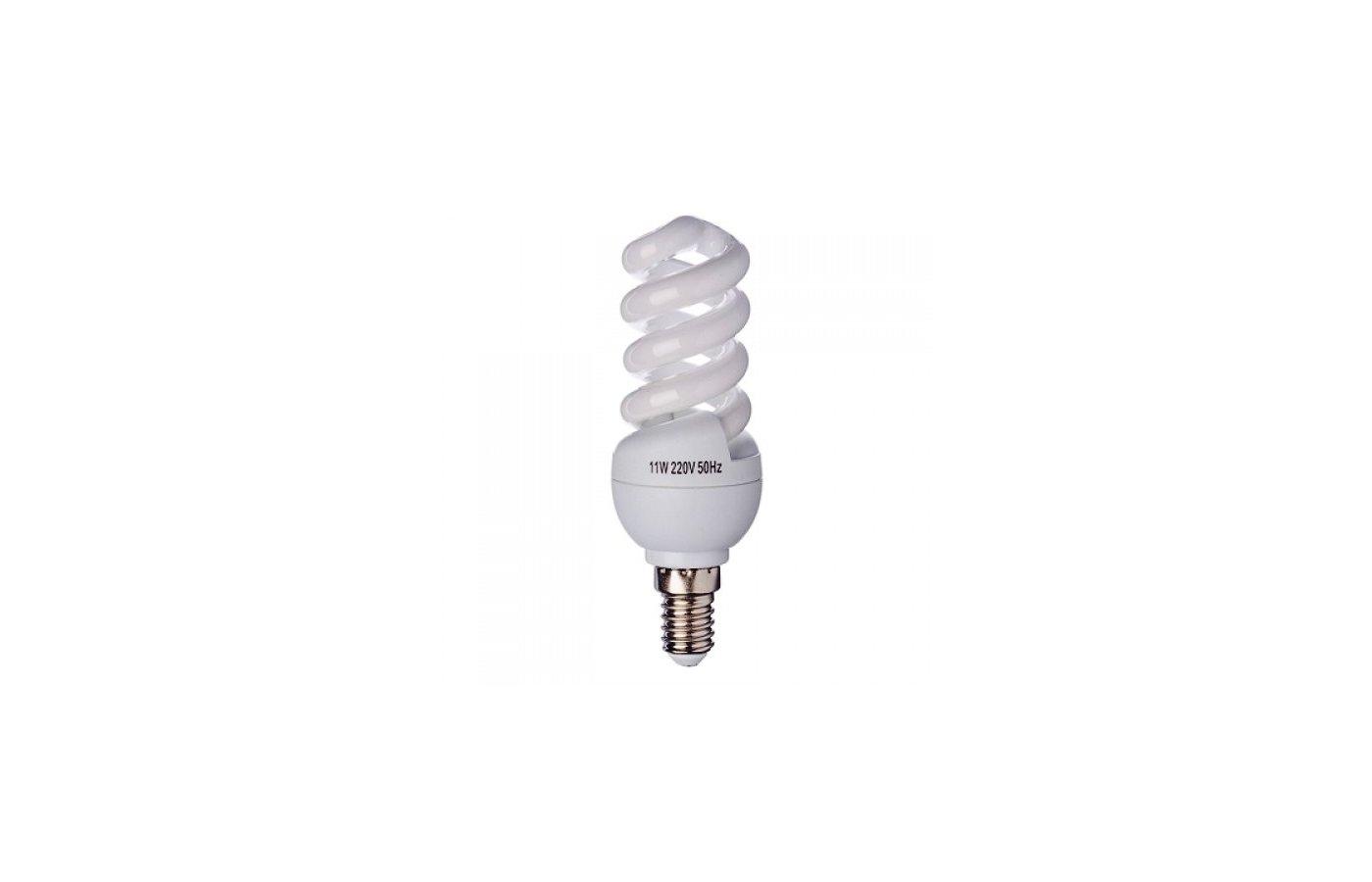 Лампочки энергосберегающие FORZA  E14 11W 4100K полн.спираль