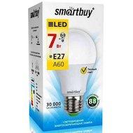 Фото Лампочки LED SmartBuy E27/A60/7Вт/теплый