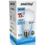 Фото Лампочки LED SmartBuy E27/A60/15Вт/холодный
