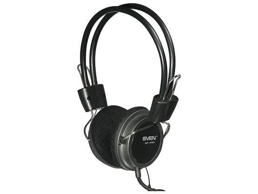 Наушники с микрофоном проводные SVEN AP-520