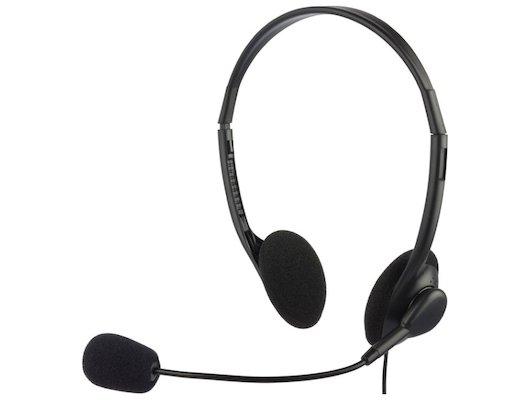 Наушники с микрофоном проводные Oklick HS-M143VB