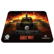 Коврик для мыши Steelseries SS QCK World of Tanks черный