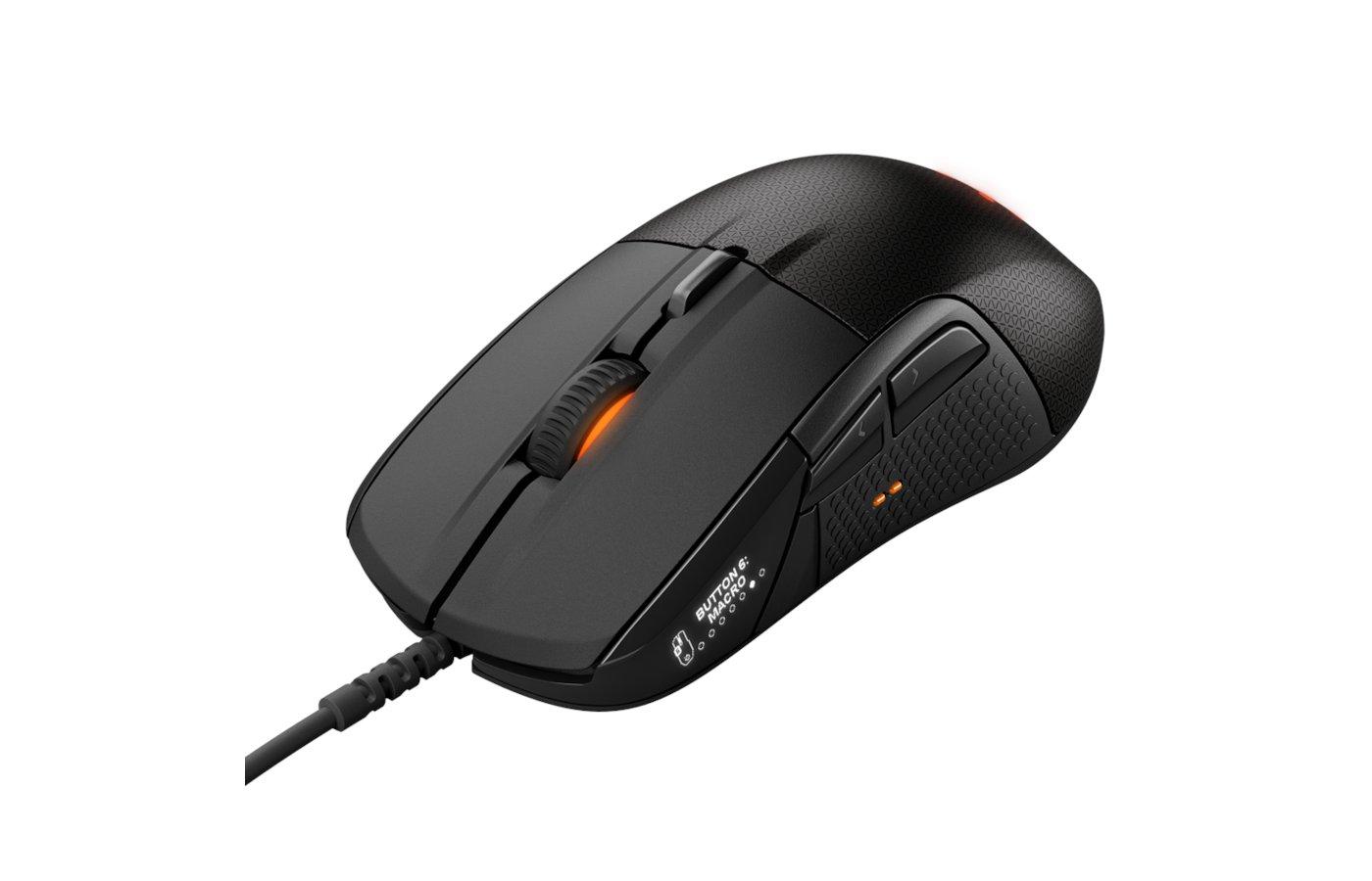 Мышь проводная Steelseries Rival 700 62331 черный