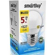 Фото Лампочки LED SmartBuy E27/G45/5Вт/теплый
