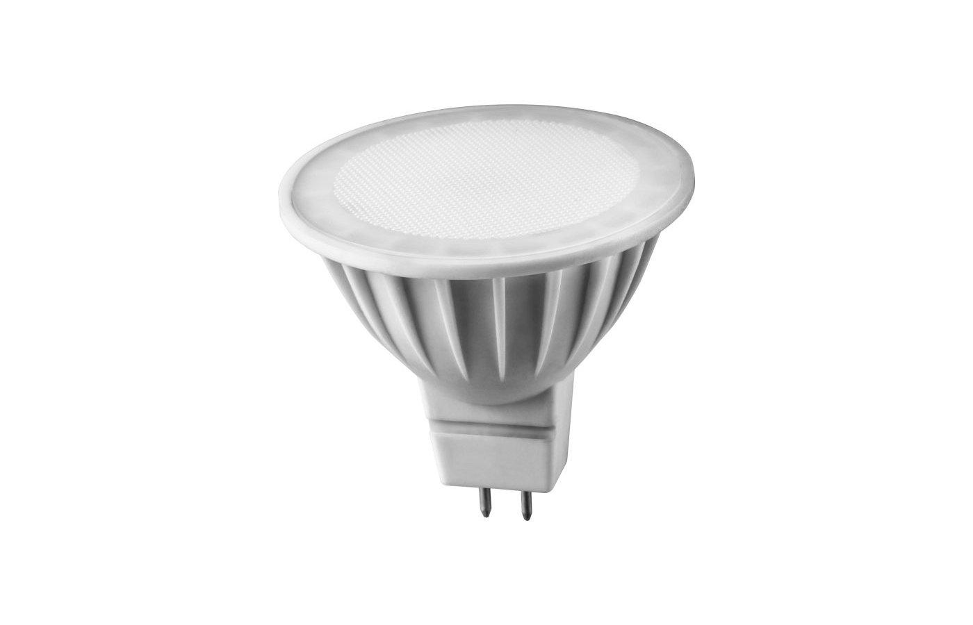 Лампочки LED ОНЛАЙТ LED 637 OLL-MR16-5-230-3K-GU5.3