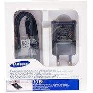 Зарядное устройство Samsung СЗУ USB 2A + кабель microUSB black (EP-TA12EBEUGRU)
