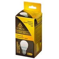 Фото Лампочки LED FORZA  G45 5W, E27, 400lm 2700К
