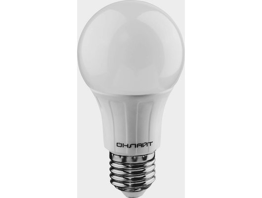 Лампочки LED ОНЛАЙТ LED 647 OLL-A60-7-230-2.7K-E27