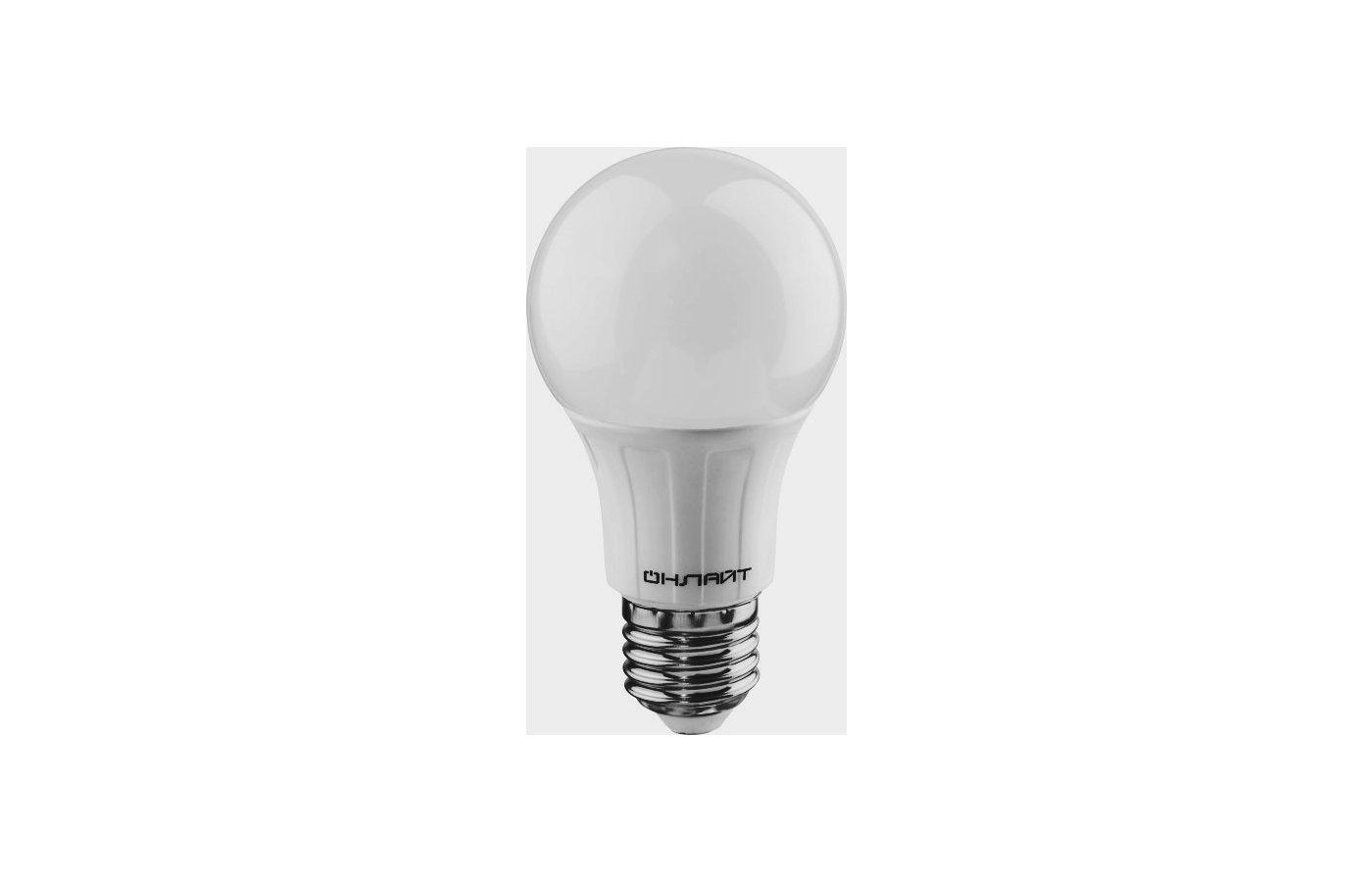Лампочки LED ОНЛАЙТ LED 649 OLL-A60-10-230-2.7K-E27