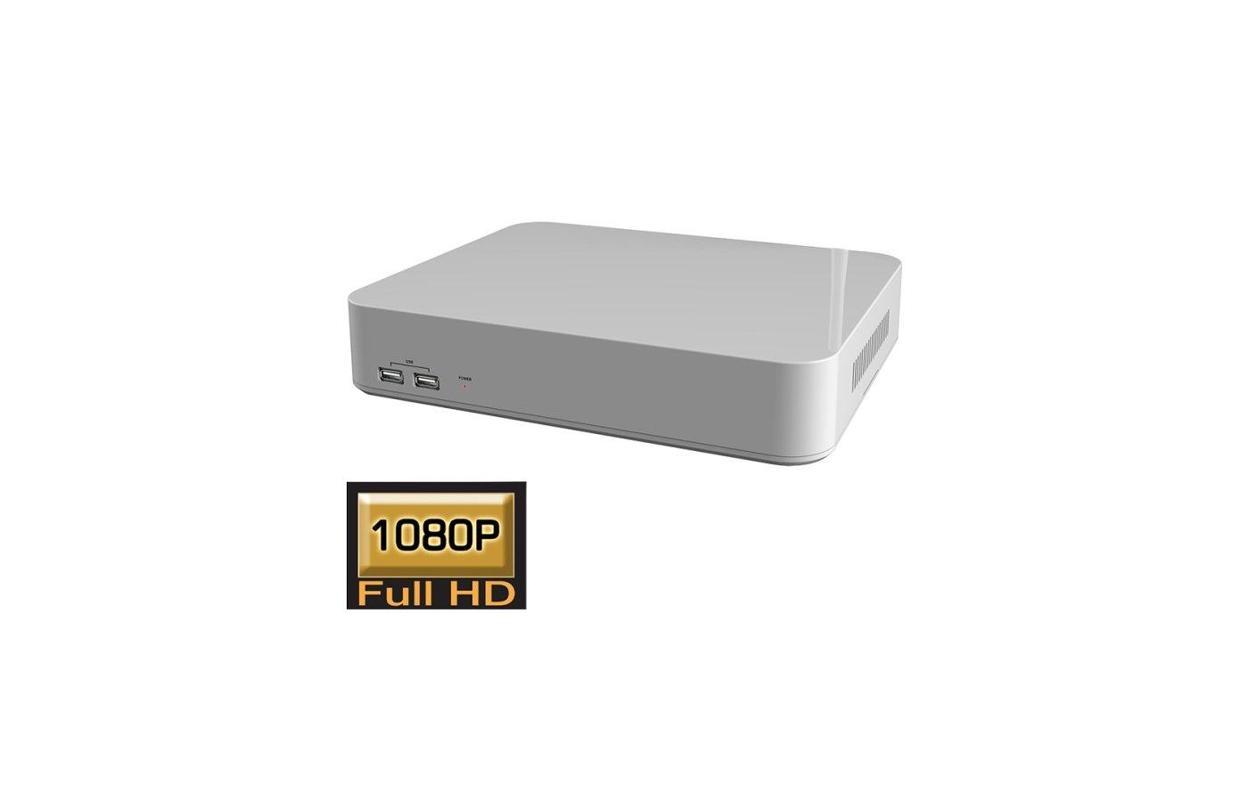 Система видеонаблюдения IVN2008A-H1 8-канальный сетевой Full HD Видеорегистратор NVR