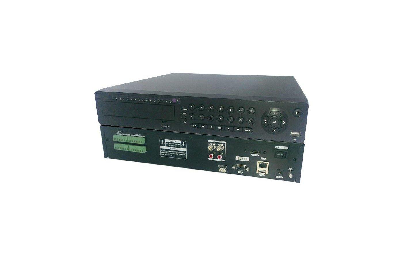 Система видеонаблюдения N6316A-H 16-канальный сетевой видеорегистратор FULL HD