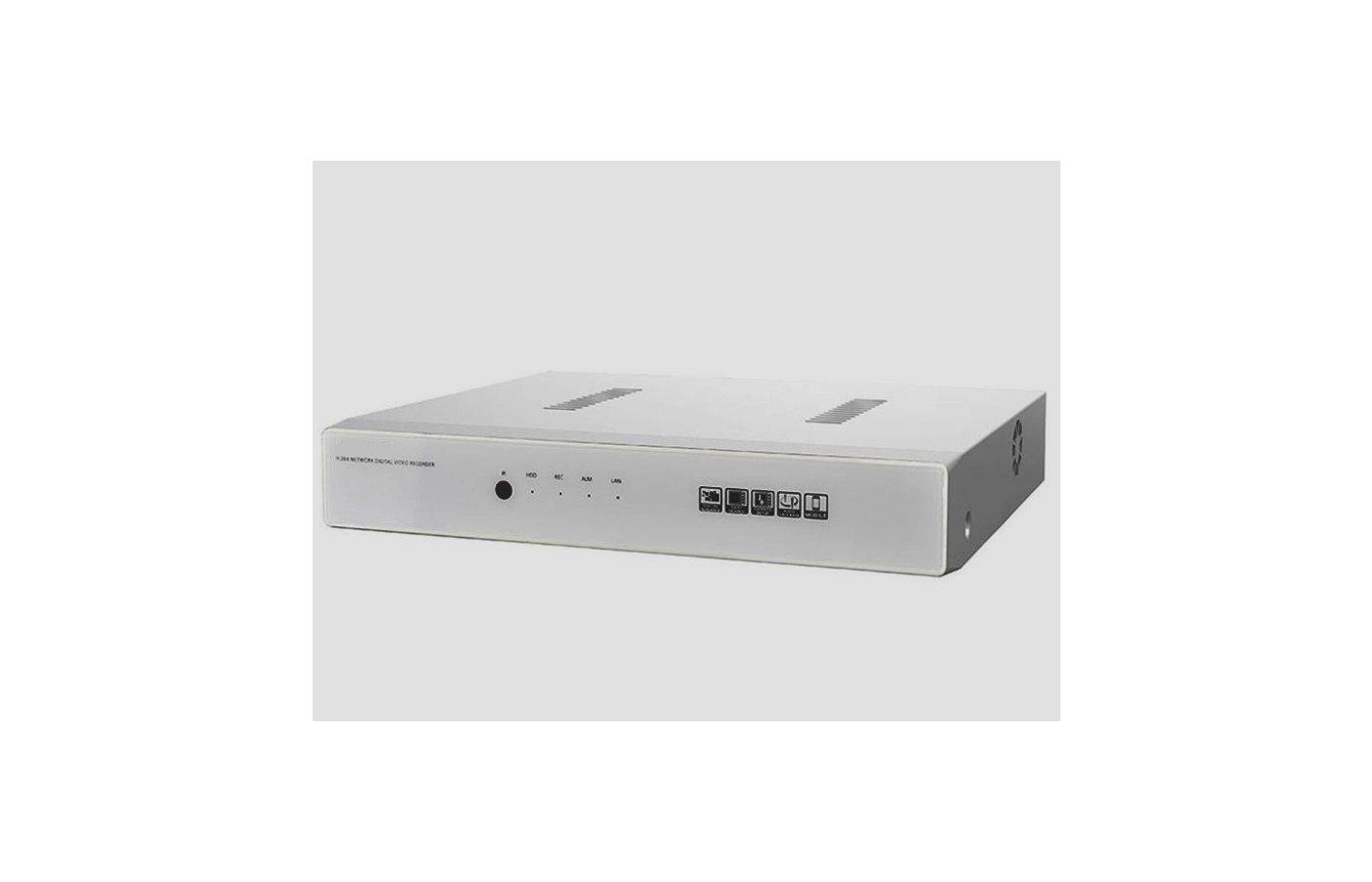 Система видеонаблюдения AVR-4X1080N-Н1 4-канальный гибридный видеорегистратор RealTime 1080N, HDD-1X2TB, HDMI, VGA