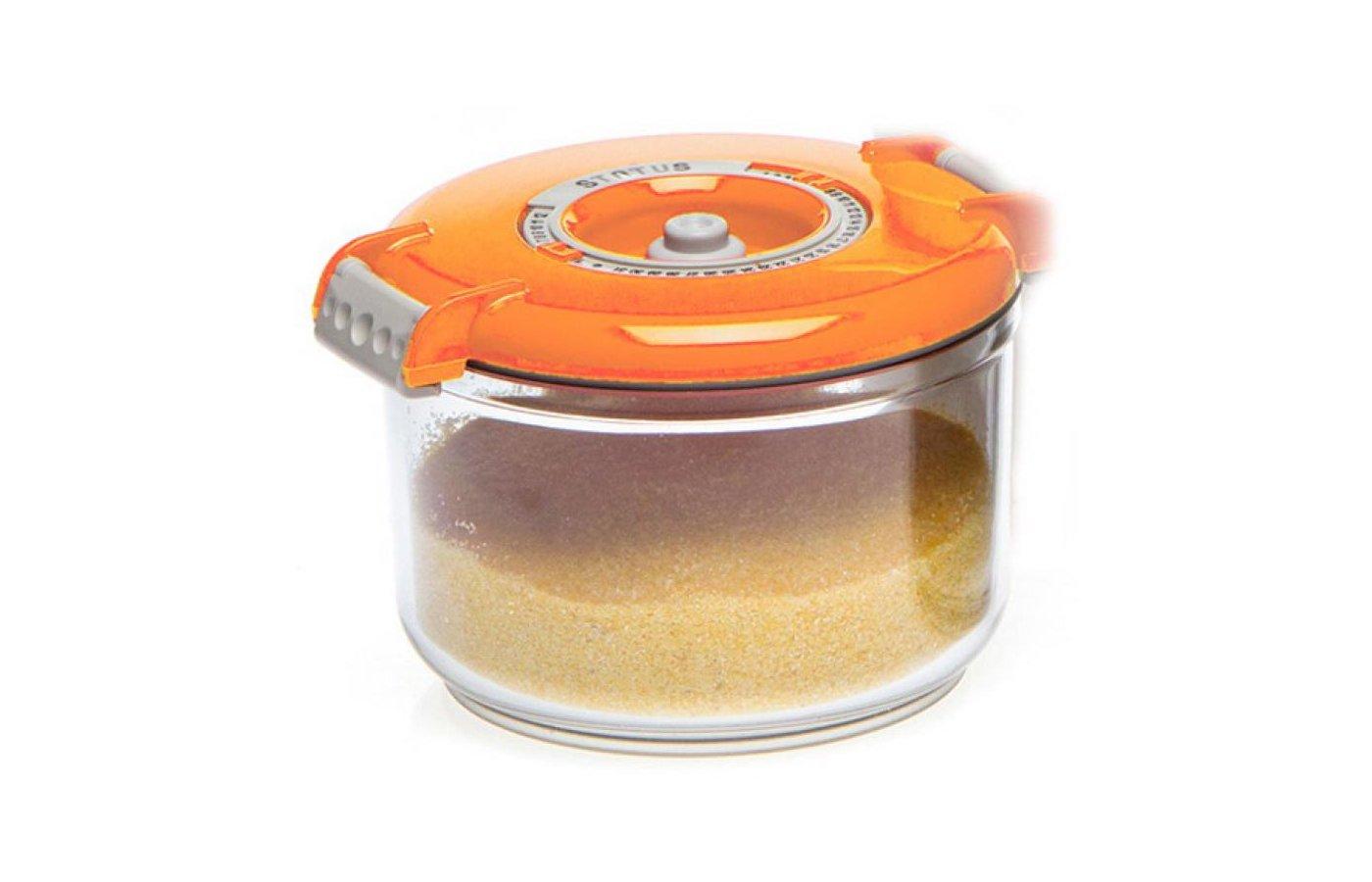 Вакуумные упаковщики STATUS VAC-RD-075 Orange Контейнер