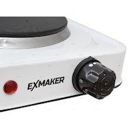 Фото Плитка электрическая EXMAKER HPF 101 white