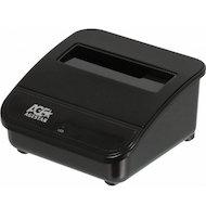 Фото Корпус для жесткого диска AgeStar Док-станция для HDD 3CBTO1 SATA USB3.0/eSATA пластик черный