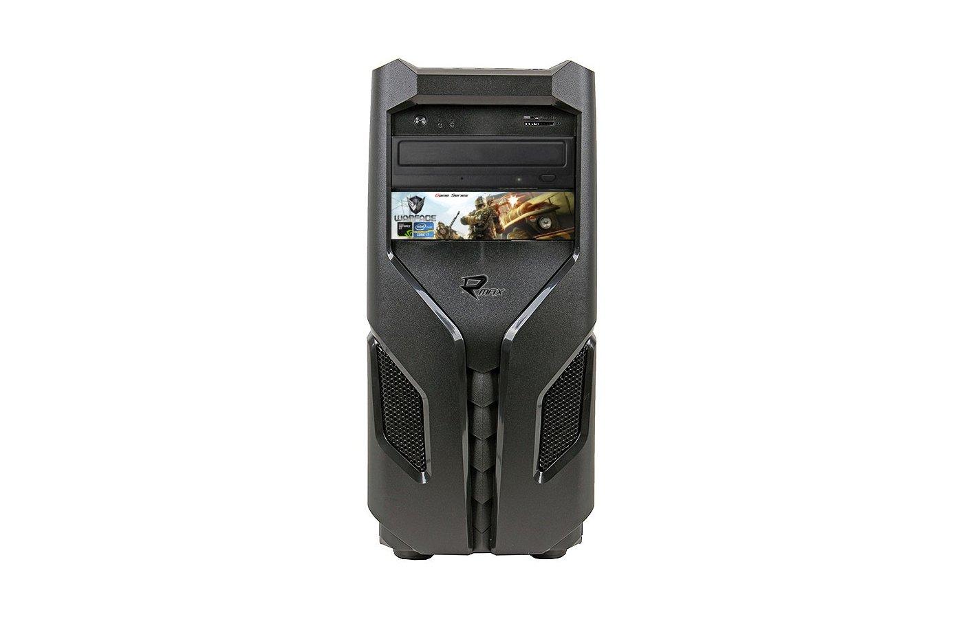 Системный блок Rmax 707 Gaming Pro intel i7 620M 2.6Gh/8Gb/1Tb/R7 360 2Gb/DVDRW/DOS