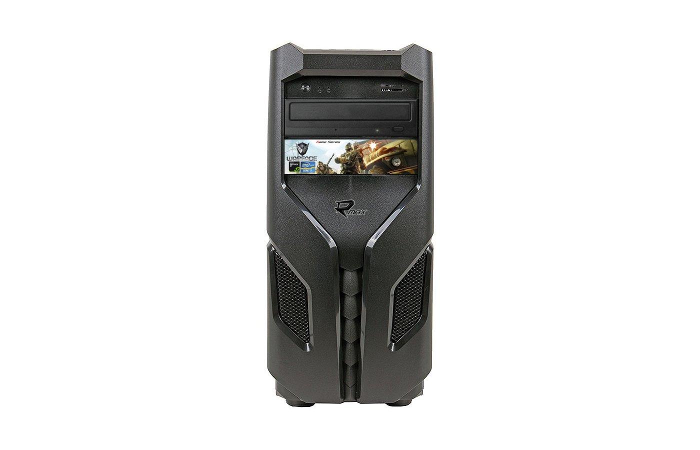 Системный блок Rmax 706 Gaming Pro intel i7 620M 2.6Gh/8Gb/1Tb/GT740 2Gb/DVDRW/DOS